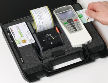 ZEMO mobiles Arztbüro / Etikettendrucker incl. VML-GK2